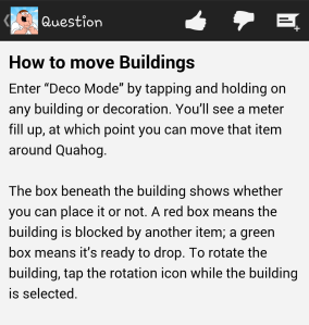 How To Menu Buildings