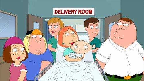 Peter Chris Meg Baby Stewie Lois