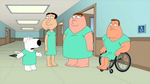 Brian Quagmire Joe Peter