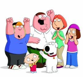 Griffin Family Chris Peter Lois Meg Stewie Brian