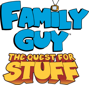 NEW ASSET -- The Quest For Stuff Title Art
