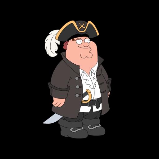 family guy pirate
