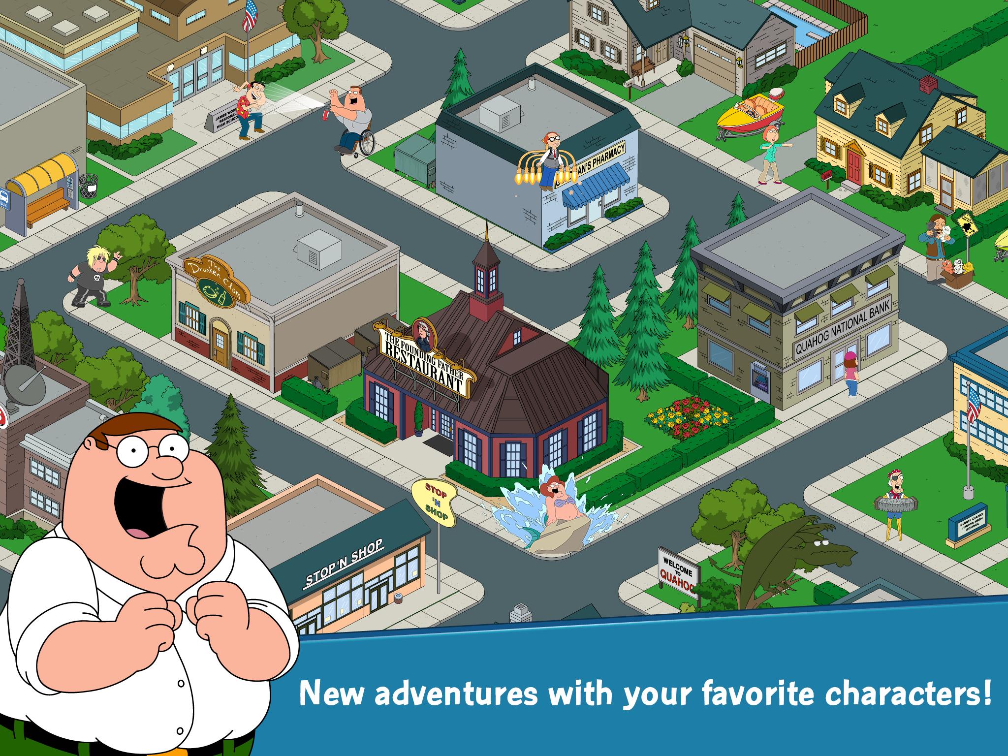 Character Unlock  Family Guy Addicts-6936