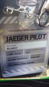 Legendary Jaeger Pilot SDCC 2014