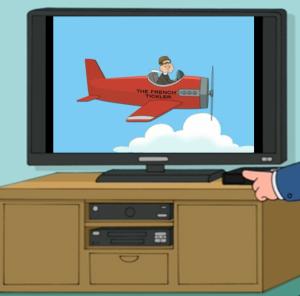 Quagmire's Plane The French Tickler