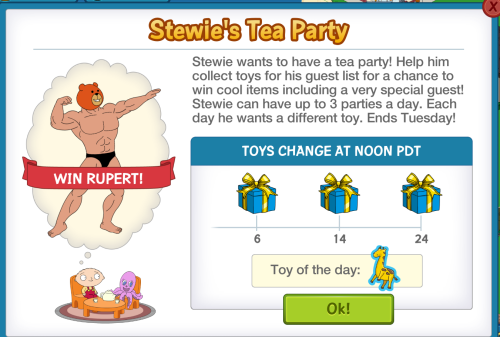 Stewie Tea Party