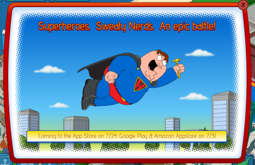 Superhero Peter