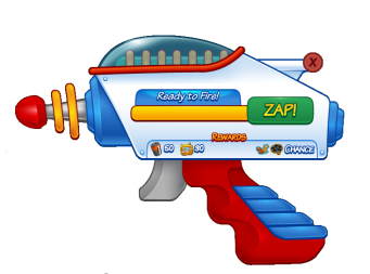 Zapper Gun Charged