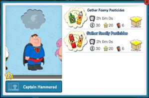 Captain Hammered Pesticides