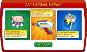 Latcher Stewie Zap