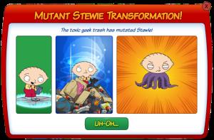 Mutant Stewie Transformation
