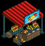 Organic Bomb Stand