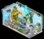 Robuttasaurus vs Robothingy