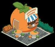 Cute L'il Orange Stand