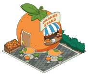 Cute L'il Orange Stand