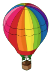 Kool Aid Hot Air Balloon