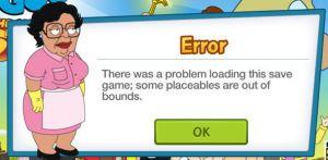 Loading Error