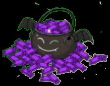Not-a-Finger Black Bat Candy Bucket 2