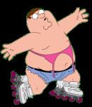 Rollerblading Bikini Peter 1