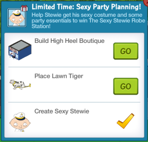Sexy Party Planning Task List