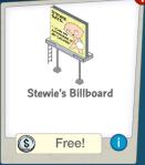 Stewie's Billboard Free