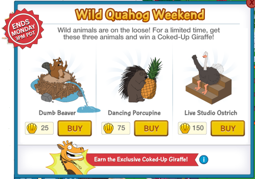 Wild Quahog Weekend 1