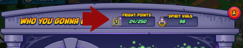 Fright Point Total