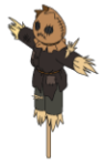 Mr Strawpants Scarecrow