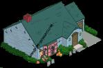 Quagmire House Halloween Decorations