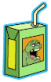 Slimer Juice Box