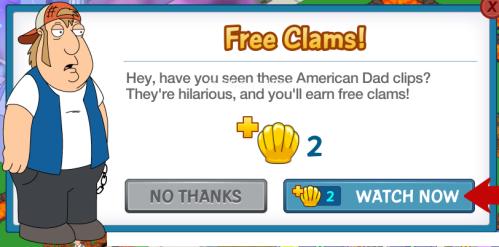 Carl Free Clams Watch Video