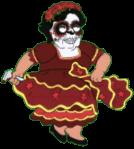 Dia De Los Muertos Consuela Dirty Dance 2