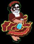 Dia De Los Muertos Consuela Dirty Dance 3