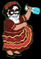 Dia De Los Muertos Consuela Dirty Dance