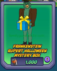 Frankenstein Rupert Box