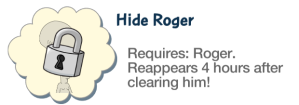 Hide Roger Locked