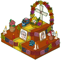 Old Lady Ofrenda