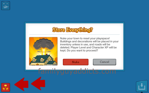 Store Everything Inventory Message