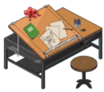 Chris Griffin's Drawing Table