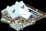 Christmas Swanson House