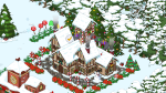 Completed Wrapped Gift Box Santa's Village