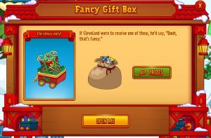 Fancy Gift Box Open Me