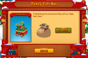 Fancy Gift Box Open Me