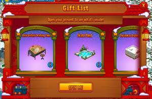 Gift List Holiday Gift Box