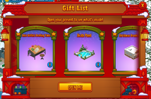 Gift List Holiday Gift Box