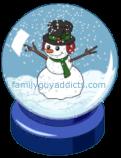 Jolly Snow Globe