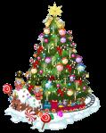 Jubilant Christmas Tree