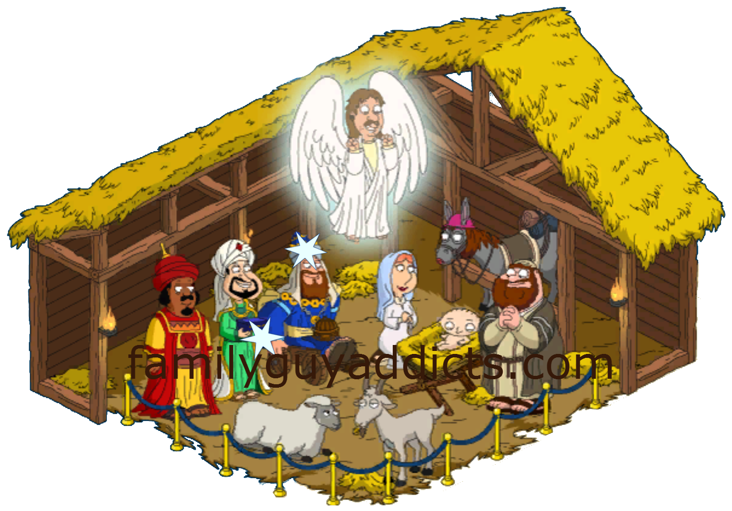 Where The Hell…? Manger/ Nativity Scene | Family Guy Addicts