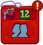 Neighbor Secret Santa Icon