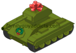 Peter's Christmas Tank